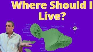 Where to Live on Maui