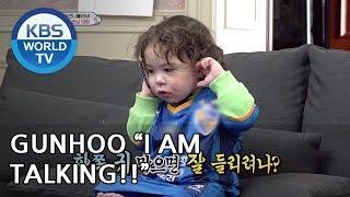 "Gunhoo ""Please let me talk to Dad"" [The Return of Superman/2019.03.31]"
