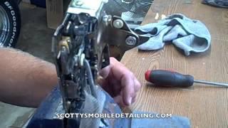 How a chevy door latch works