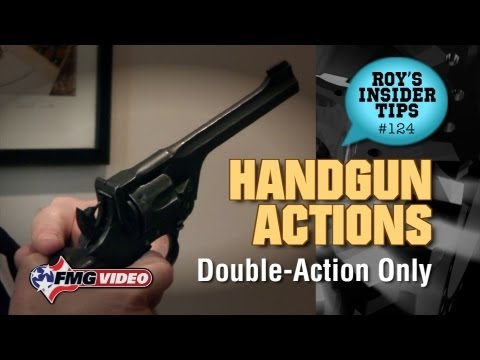 Handgun Action Part 3: Double Action Only