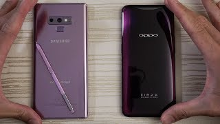 Samsung Galaxy Note 9 vs Oppo Find X - Speed Test!