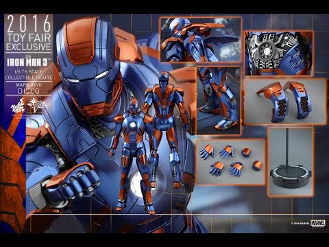 Hot Toys – MMS371 – 鋼鐵人3【馬克27 迪斯可】Mark XXVII Disco 開箱