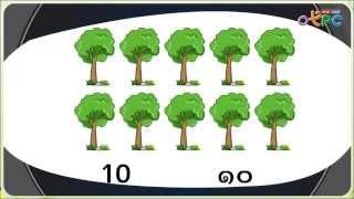 สื่อการเรียนการสอน จำนวนนับ 11-20 ป.1 คณิตศาสตร์