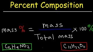 Percent Composition By Mass