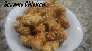 Chinese Sesame Chicken At Home | Chinese Takeout Recipes | Southern Smoke Boss