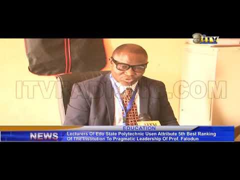 Edo State Polytechnic ranks fifth best Polytechnic in Nigeria