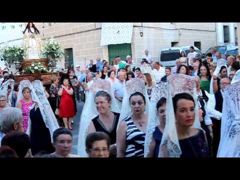 Llegada de la Virgen de Altagracia a Garrovillas 2015
