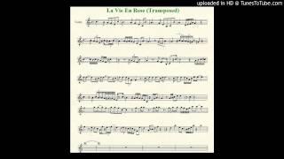 La Vie En Rose - Violin Cover - Sheet Music In Description
