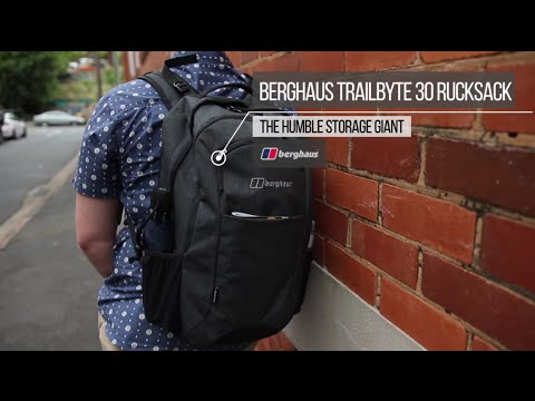 Berghaus Trailbyte 30 Rucksack Review – The Humble Storage Giant