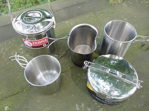 Töpfe (Edelstahl) für die Outdoorküche -  Meine Top 5 (Teil1)