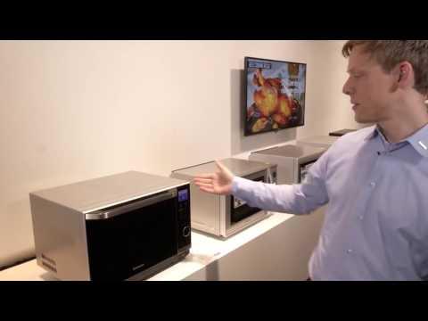 Panasonic präsentiert   Mikrowellen mit Inverter Technologie #PanasonicIFA
