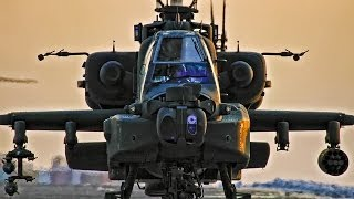 Apache Helicopters In Action • Combat Footage