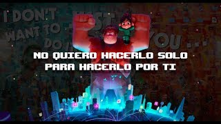 Imagine Dragons | Zero Español (Lyrics) (Ralph Breaks The Internet Soundtrack) | Animated|