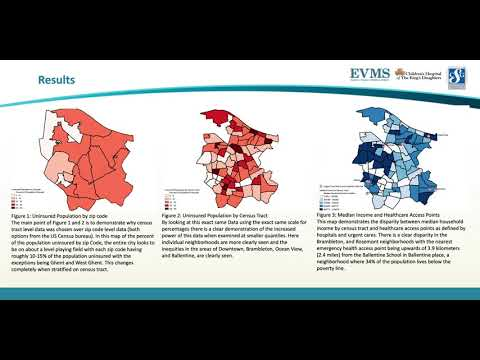 Thumbnail image of video presentation for Extreme Heat Events and Health Outcomes: Vulnerability Mapping of the City of Norfolk