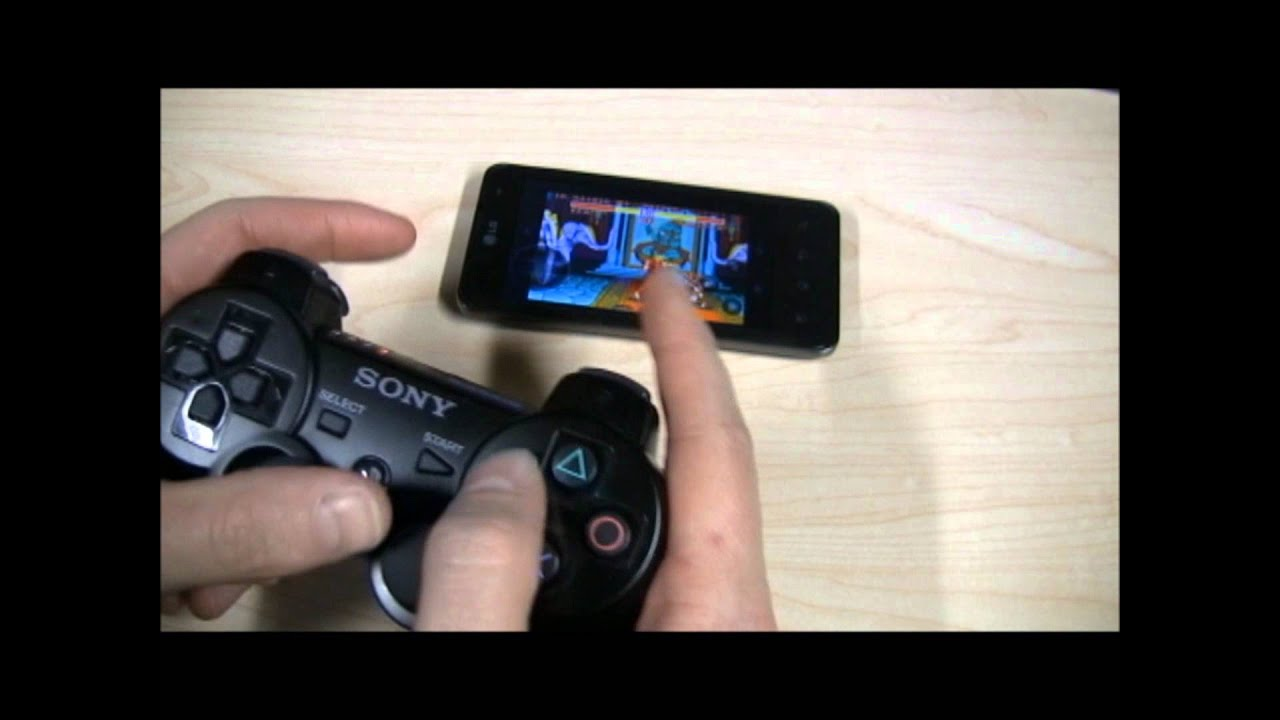 How To Play Your Android Games With A PlayStation 3 Controller