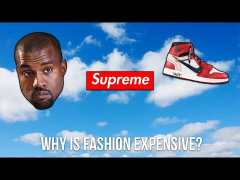 Why is Fashion So Expensive?
