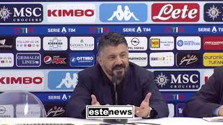 Napoli-Juventus 2-1, Gattuso: