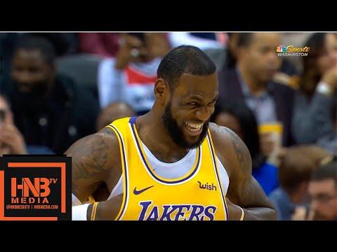 Los Angeles Lakers vs Washington Wizards 1st Half Highlights | 12.16.2018, NBA Season