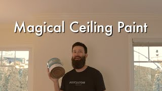 The Best Ceiling Paint I've Ever Used and It's Not Expensive!