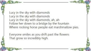 Cheap Trick - Lucy in the Sky with Diamonds DVD Lyrics