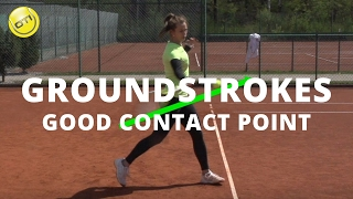 A Good Contact Point For Better Groundstrokes