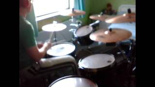 Feeder - White Lines (Drum Cover)