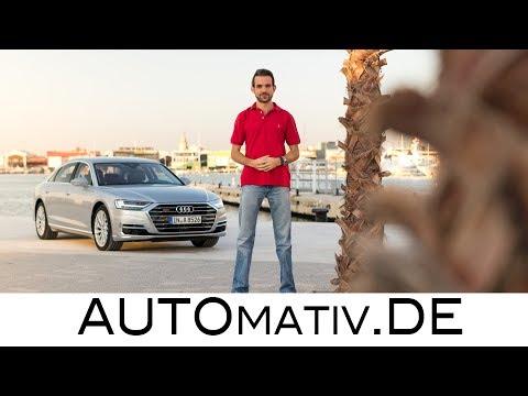 Audi A8 55 3.0 TFSI 2017 im ersten Fahreindruck und Test - Review Audi A8L |AUTOmativ.de