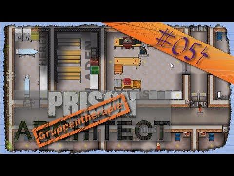 Let's Create - Prison Architect #054: Zwei Räume für Rot [Deutsch|Facecam]