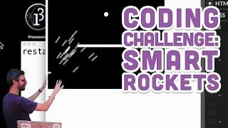 Coding Challenge #29: Smart Rockets in p5.js   Kholo.pk
