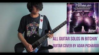 The Donnas - All guitar solos in Bitchin' | Adán Pichardo