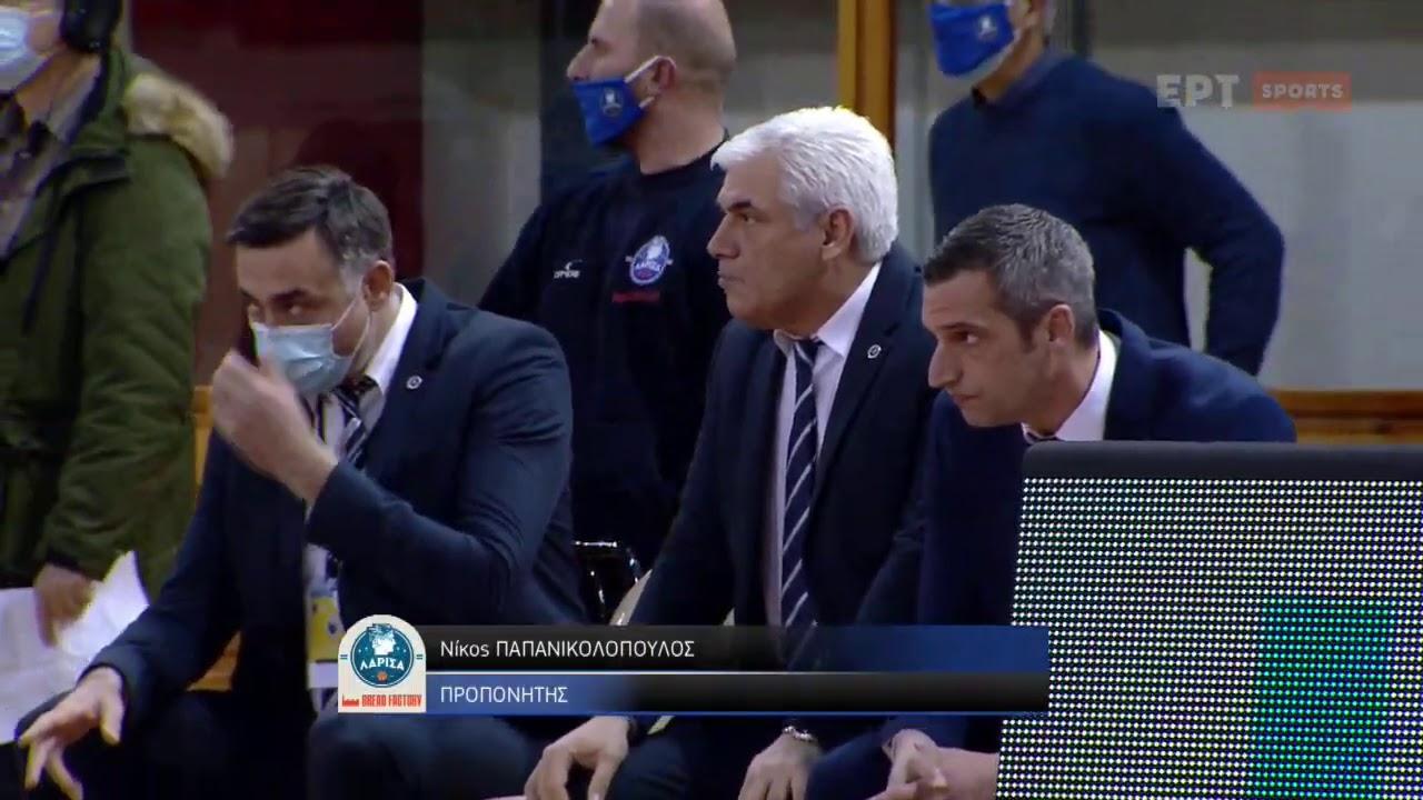 Basket League | Λάρισα – Λαύριο 58-66 | Αγώνας | 11/01/2021 | ΕΡΤ