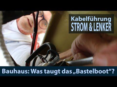 Bauhaus Bastelboot #4 Armaturen, Batterie & Stromkabel, Konsole & Schaltung, Lenkkabel & Lenkrad