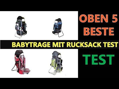 Beste Babytrage mit Rucksack Test 2019