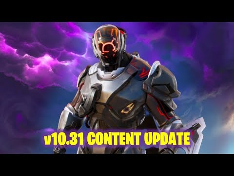 Fortnite Xbox One Live - time to mobilize New Update v10.31 (Fortnite Battle Royal Live)