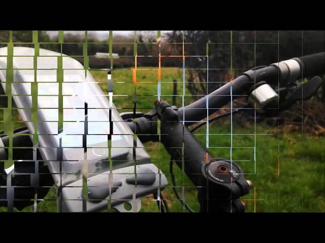 Видео Чехол-мини для телефона Aquapac MINI BIKE-MOUNTED WATERPROOF