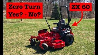 Thinking Zero turn Mower - Gravely Pro Turn walkthrough review