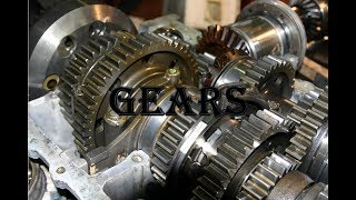 Gears : Types and its Applications