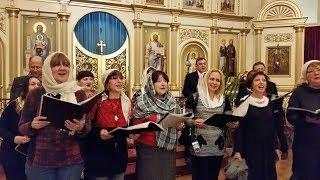 Петь в церковном хоре. Поем хором. Хор Модерато. Хор Москва.
