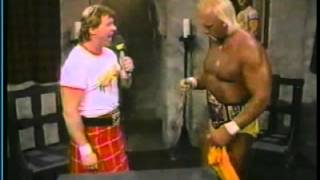 Piper's Pit with Hulk Hogan (02-14-1987)