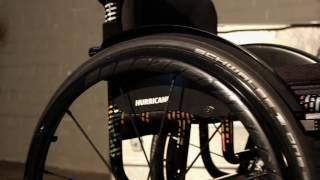 Sportovní invalidní vozík s pevným rámem Hurricane 1.880 - Hurricane video