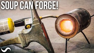 MAKING A FORGE THAT FITS IN A BACKPACK!!!