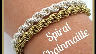 Must Know Monday (10/3/16) Spiral Chainmaille