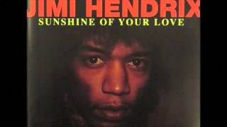 Jimi Hendrix Sunshine of your love