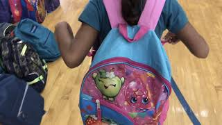 Crayons To Classrooms Delivers Backpacks To Kiser Elem.