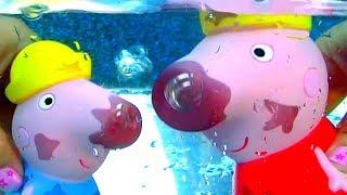 Peppa Pig Nickelodeon Color Change Bath Toys