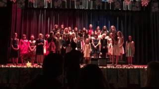 "SJMV children's Choir- Christmas Concert 2016- ""Grown Up Christmas List"" by Kelly Clarkson"