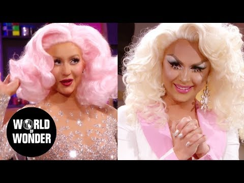 Christina Aguilera Surprises Farrah Moan During Untucked: RuPaul's Drag Race Season 10