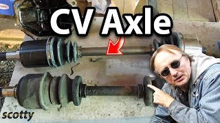 How to Replace a CV Axle in Your Car