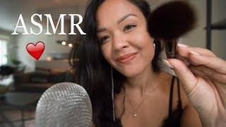 Can I make you tingle? ASMR ❤️ Visual triggers, Mouth sounds, Inaudible
