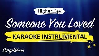 lewis capaldi someone you loved lyrics karaoke higher - TH-Clip